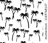 palm trees pattern seamless....   Shutterstock .eps vector #1169768137