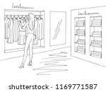 shop interior graphic black... | Shutterstock .eps vector #1169771587