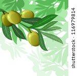 olive tree hanuka israel... | Shutterstock .eps vector #116979814