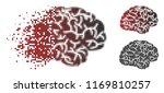 brain icon in sparkle ...   Shutterstock .eps vector #1169810257