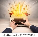 first person perspective image... | Shutterstock . vector #1169826061