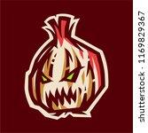 angry garlic esport logo...   Shutterstock .eps vector #1169829367