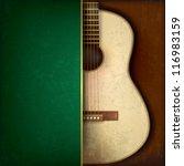 abstract grunge green... | Shutterstock .eps vector #116983159