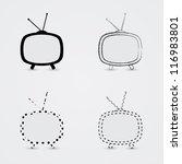 tvs | Shutterstock .eps vector #116983801