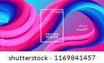 abstract wave liquid shape.... | Shutterstock .eps vector #1169841457