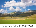 rural landscape with... | Shutterstock . vector #1169862847