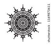 beautiful vector circular... | Shutterstock .eps vector #1169873611