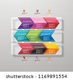 option line by arrow segments ... | Shutterstock .eps vector #1169891554