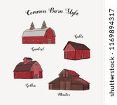 Collection Of Common Barn Styl...