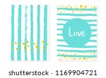 gold glitter sequins with dots. ... | Shutterstock .eps vector #1169904721