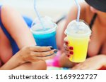 summer close up image of two... | Shutterstock . vector #1169922727