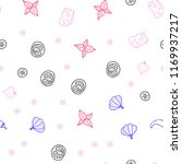 light pink  blue vector...   Shutterstock .eps vector #1169937217