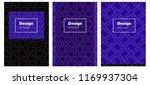dark purple vector background...   Shutterstock .eps vector #1169937304