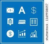 capital icon. 9 capital vector... | Shutterstock .eps vector #1169938057