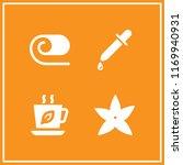 aroma icon. 4 aroma vector set. ... | Shutterstock .eps vector #1169940931