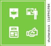 reader icon. 4 reader vector... | Shutterstock .eps vector #1169941984