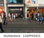 beyoglu  istanbul  turkey  ... | Shutterstock . vector #1169943421