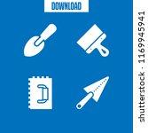finishing icon. 4 finishing...   Shutterstock .eps vector #1169945941