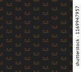 halloween seamless pattern ... | Shutterstock .eps vector #1169947957