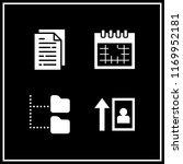 organization icon. 4... | Shutterstock .eps vector #1169952181