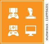 controller icon. 4 controller...   Shutterstock .eps vector #1169956201