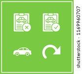 automotive icon. 4 automotive...   Shutterstock .eps vector #1169960707