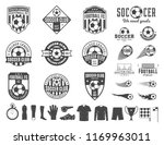 set of vector football  soccer  ... | Shutterstock .eps vector #1169963011