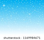 falling snow background. vector ... | Shutterstock .eps vector #1169984671