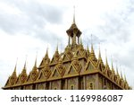 the golden castle in wat tha...   Shutterstock . vector #1169986087