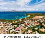 aerial drone view of tropical... | Shutterstock . vector #1169990104