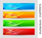raster version. web panels form ... | Shutterstock . vector #116999074