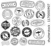 venice italy stamp vector art... | Shutterstock .eps vector #1170000907