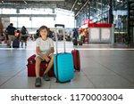 children  traveling together ... | Shutterstock . vector #1170003004