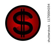 signs dollar money icon | Shutterstock . vector #1170004354
