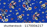 seamless floral pattern in... | Shutterstock .eps vector #1170006217