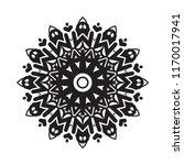 beautiful vector circular... | Shutterstock .eps vector #1170017941