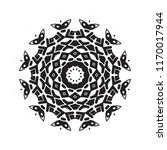 beautiful vector circular... | Shutterstock .eps vector #1170017944