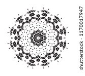 beautiful vector circular... | Shutterstock .eps vector #1170017947