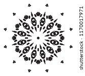beautiful vector circular... | Shutterstock .eps vector #1170017971