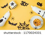 halloween holiday background... | Shutterstock . vector #1170024331