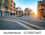 nigth view of city center of... | Shutterstock . vector #1170027607