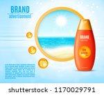 sunblock ads template. sun...   Shutterstock .eps vector #1170029791