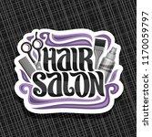 vector logo for hair salon ... | Shutterstock .eps vector #1170059797