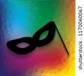 traditional venetian carnival... | Shutterstock .eps vector #1170060067