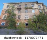 abandoned building  rural russia | Shutterstock . vector #1170073471
