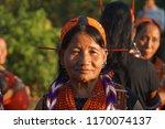 longwa village  mon  nagaland...   Shutterstock . vector #1170074137