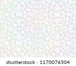 light abstract rainbow pattern... | Shutterstock . vector #1170076504