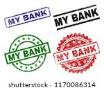 my bank seal prints with... | Shutterstock .eps vector #1170086314