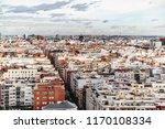 color residential quarter in...   Shutterstock . vector #1170108334