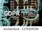 gdpr  general data protection... | Shutterstock . vector #1170109234